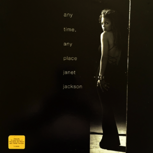 "Janet Jackson - Any Time, Any Place (12"") (VG+/VG+)"